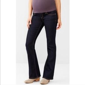 GAP Maternity Denim Jeans Dark Wash Belly Panel